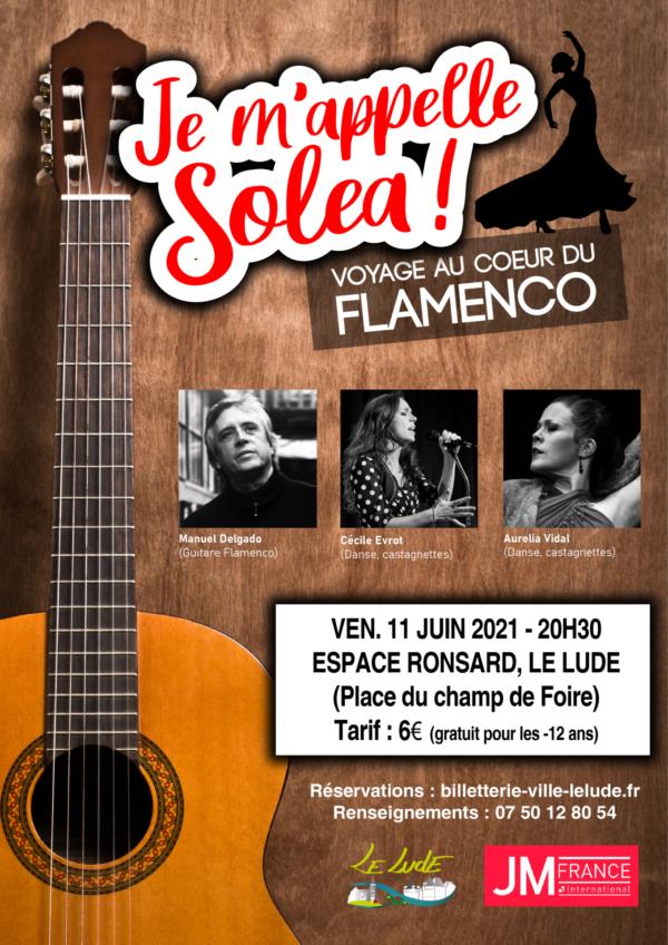 Je m'appelle Soléa (Voyage au coeur du Flamenco)