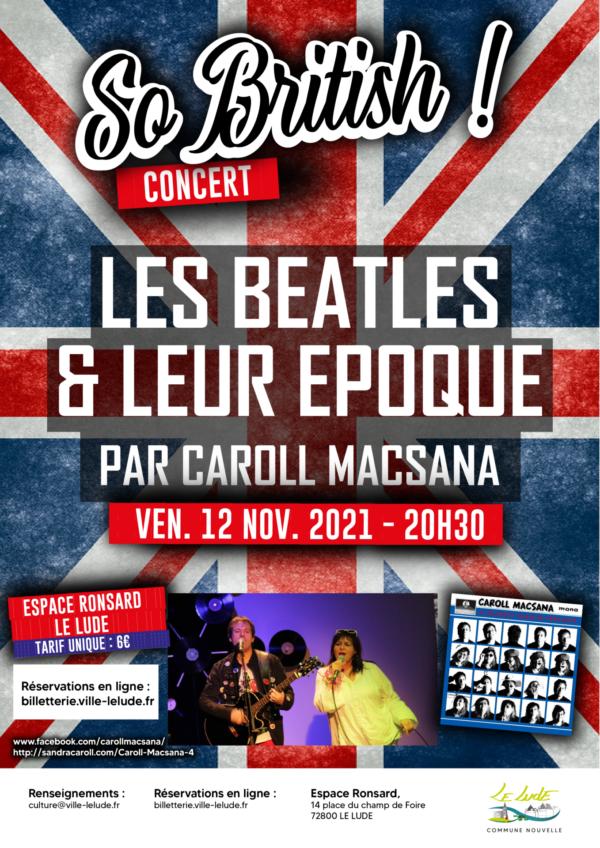 Caroll Macsana – Les Beatles et leur Époque